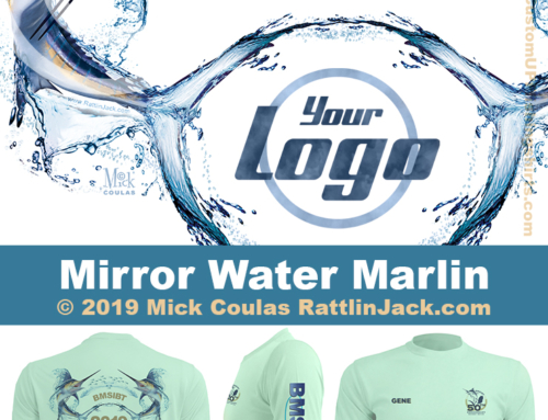 Custom UPF Fishing Shirts Mirror Marlin Fish Gallery