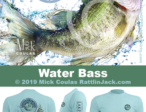 Custom UPF Fishing Shirts Water Bass Fish Gallery