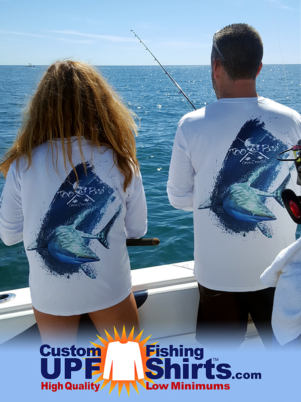 custom-UPF-fishing_shirt-shark-design © Mick Coulas