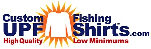 Custom UPF Fishing Shirts Logo