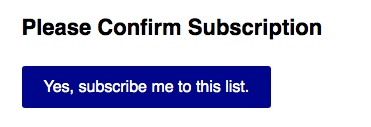 Your email will have this button in it - please confirm subscription to get your Club or Group's custom UPF fishing shirt project on to our to-do list, see samples and get your questions answered before you pay.